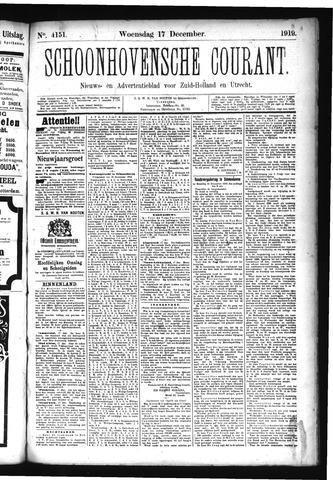 Schoonhovensche Courant 1919-12-17