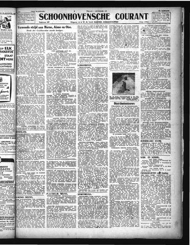 Schoonhovensche Courant 1944-09-01