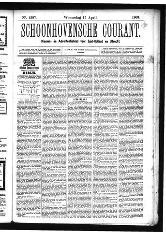 Schoonhovensche Courant 1903-04-15
