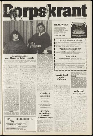 Dorpskrant 1989-02-01
