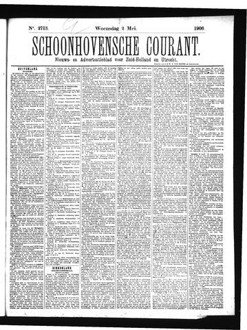 Schoonhovensche Courant 1906-05-02