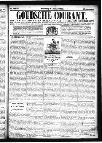 Goudsche Courant 1922-01-16