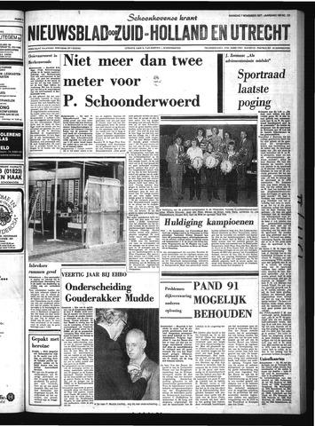 Schoonhovensche Courant 1977-11-07