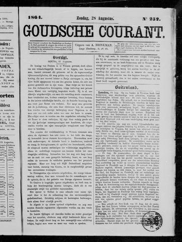 Goudsche Courant 1864-08-28