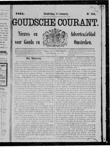 Goudsche Courant 1863-01-15