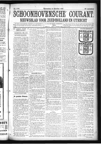 Schoonhovensche Courant 1926-10-13