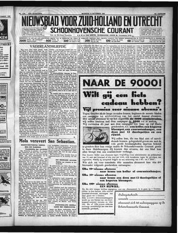 Schoonhovensche Courant 1936-09-14