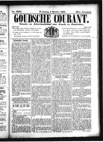 Goudsche Courant 1910-10-05