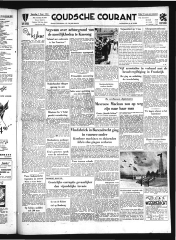Goudsche Courant 1951-09-01