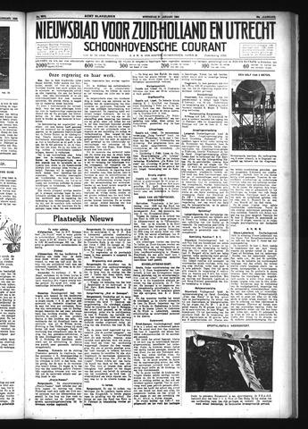 Schoonhovensche Courant 1934-01-31