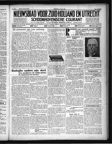 Schoonhovensche Courant 1936-04-08