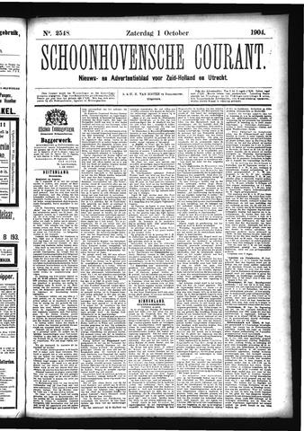 Schoonhovensche Courant 1904-10-01