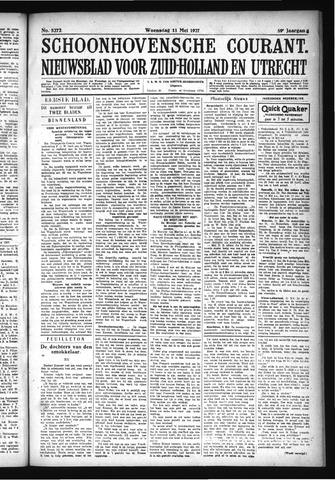 Schoonhovensche Courant 1927-05-11