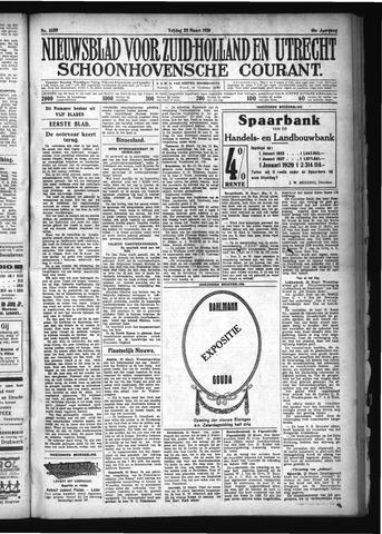 Schoonhovensche Courant 1929-03-22