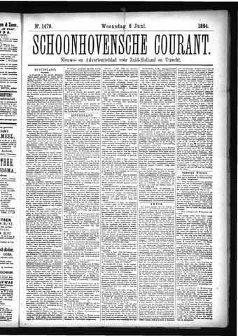 Schoonhovensche Courant 1894-06-06