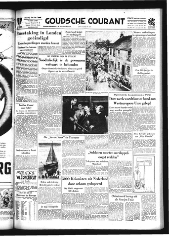 Goudsche Courant 1954-10-19