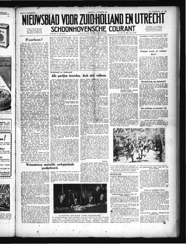 Schoonhovensche Courant 1949-11-04