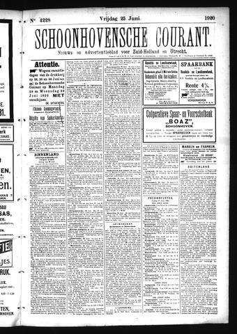 Schoonhovensche Courant 1920-06-25
