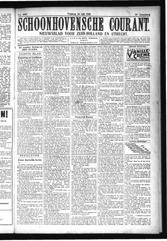 Schoonhovensche Courant 1925-07-24