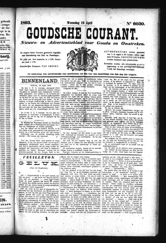 Goudsche Courant 1893-04-26