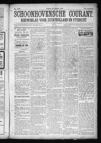Schoonhovensche Courant 1926-01-29