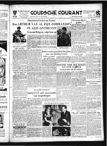 Goudsche Courant 1951-04-11
