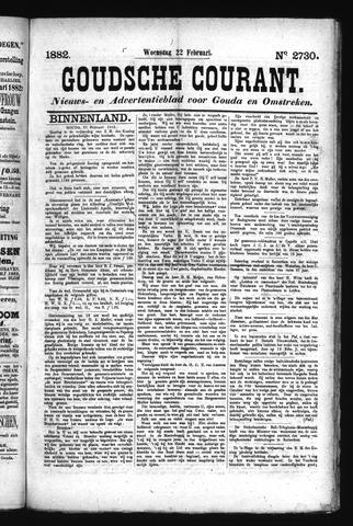 Goudsche Courant 1882-02-22