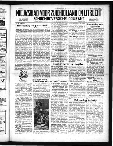 Schoonhovensche Courant 1951-10-08