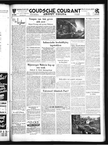 Goudsche Courant 1950-04-20