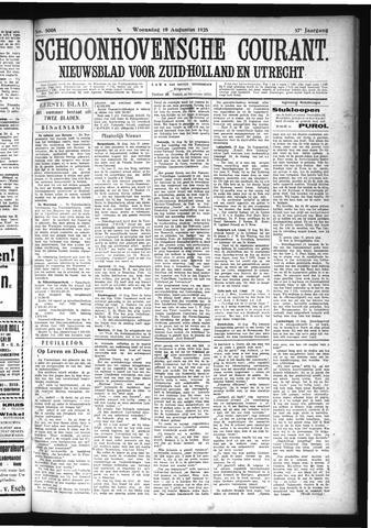 Schoonhovensche Courant 1925-08-19