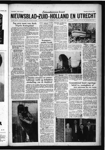 Schoonhovensche Courant 1960-02-22