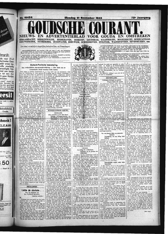 Goudsche Courant 1933-11-21