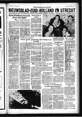 Schoonhovensche Courant 1966-02-21