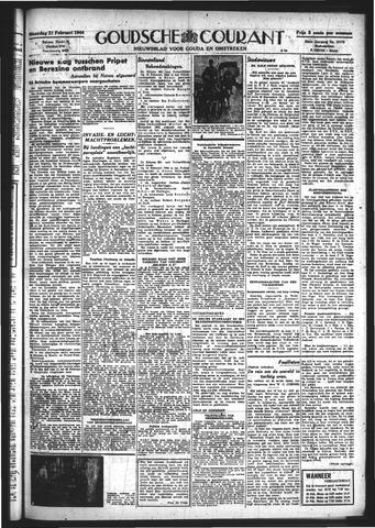 Goudsche Courant 1944-02-21