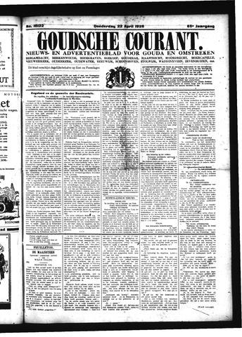 Goudsche Courant 1926-04-22