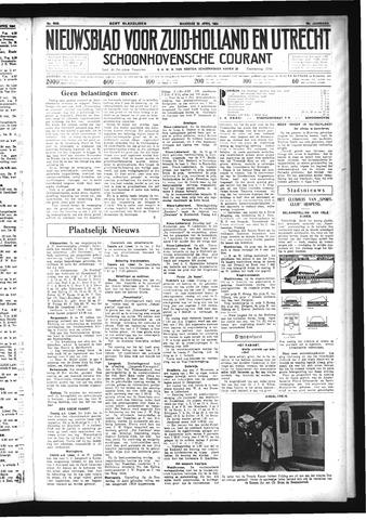 Schoonhovensche Courant 1934-04-23
