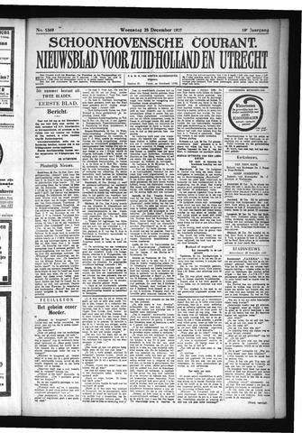 Schoonhovensche Courant 1927-12-28