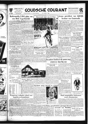 Goudsche Courant 1954-07-09