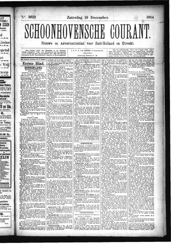 Schoonhovensche Courant 1914-12-19