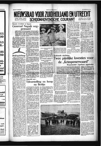 Schoonhovensche Courant 1954-02-26