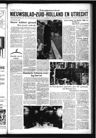 Schoonhovensche Courant 1963-07-10