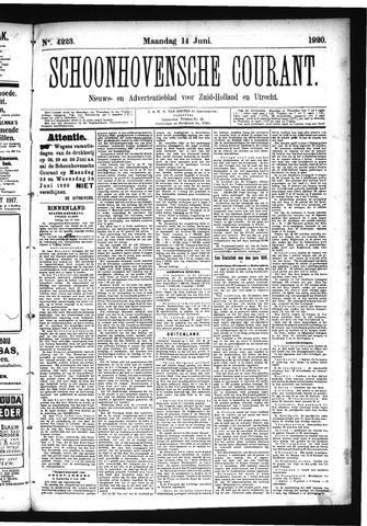 Schoonhovensche Courant 1920-06-14