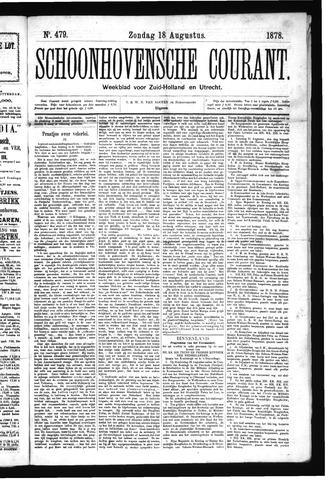 Schoonhovensche Courant 1878-08-18