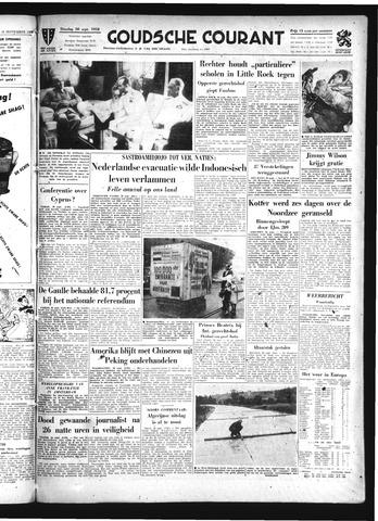 Goudsche Courant 1958-09-30