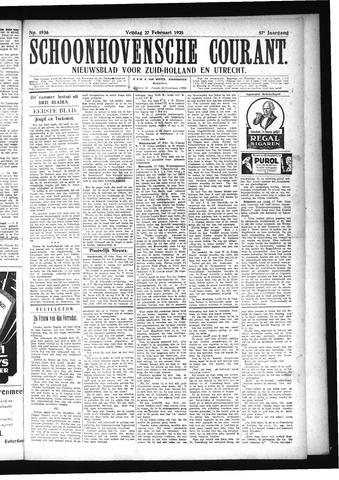 Schoonhovensche Courant 1925-02-27