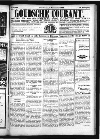 Goudsche Courant 1936-12-03