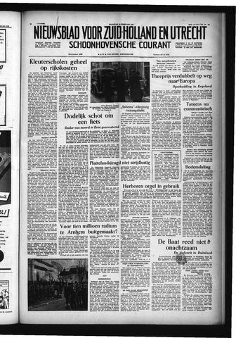 Schoonhovensche Courant 1955-02-14