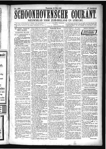 Schoonhovensche Courant 1925-05-18