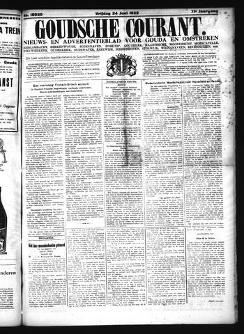 Goudsche Courant 1932-06-24