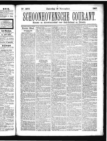 Schoonhovensche Courant 1907-11-16